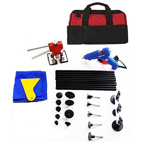 PDR Tool Car Dent Puller Furuix Auto Body Dent Repair Kit Dent Lifer Paintless Dent Repait Tool Ding Repair Dent Remover Kit
