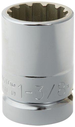 Stanley Proto  J5744SPL  1-Inch Drive Spline Socket Number-44 1-38-Inch