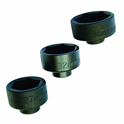 OEMTOOLS 27204  Oil Cap Filter Socket 3-Piece