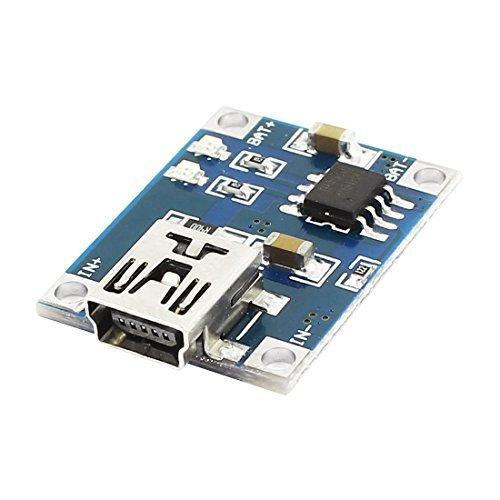 GUWANJI 5V Mini USB 1A 18650 Lithium Battery Charging Board Module LED TP4056