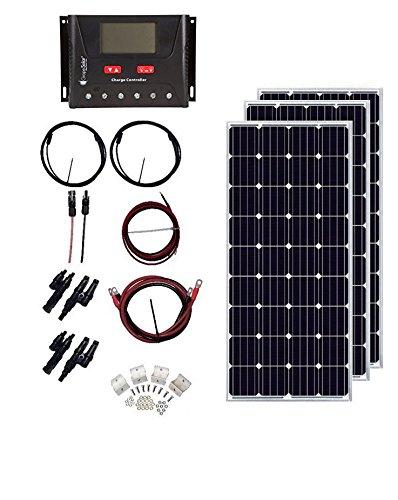 Grape Solar GS-540-CKIT-A 540W Charging Kit for 1224V Battery Banks