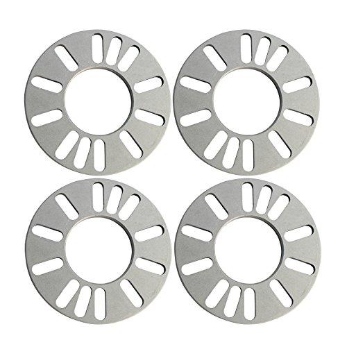 9mm 4 5 Lug Universal Wheel Spacers 4X100 5X100 5X112 5X45 5X475 5X5 Scion 4PC