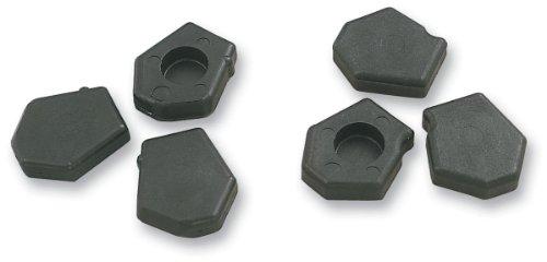 COMET INDUSTRIES Pucks - Pentagon w Steel Insert - Blue