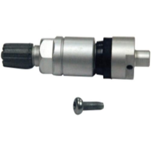 Dynamic 6-225 Brushed Metal Valve stem for Dynamic Pro-Select TPMS Sensors 4 Pack