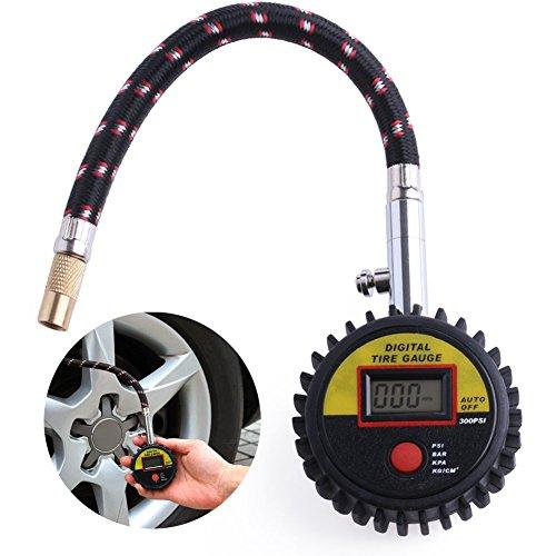 Kangnice 300 PSI Car Truck Motorcycle Bike Tire Tyre Air Pressure Gauge Digital Tester