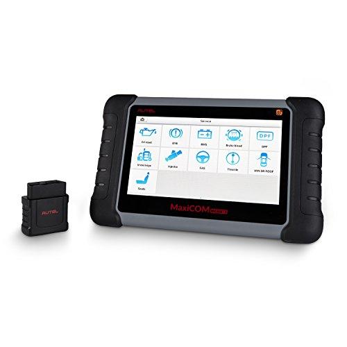 Autel MaxiCOM MK808TS Auto TPMS Relearn Tool Universal Tire Sensor Activation Pressure Monitor Reset Scanner Programming MX-Sensor Service OBD Diagnostic Tool with Oil Reset EPB SAS BMS Immobilizer