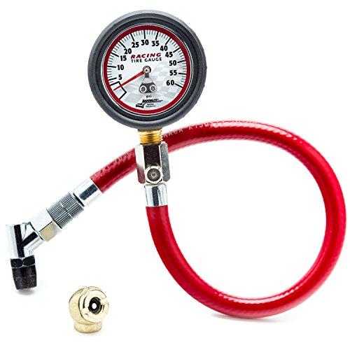 Longacre 50417 0-60 PSI Tire Pressure Gauge