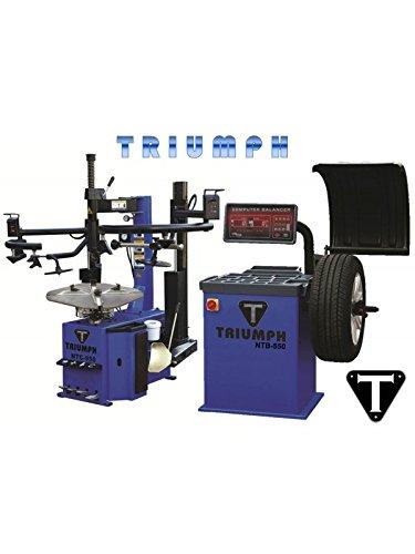 NTC-950-2 NTB-800 Tire Changer Wheel Balancer Combo Package