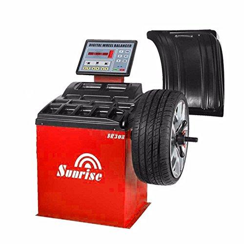 SR308 Wheel Balancer Tire Balancers Machine Rim Car Heavy Duty