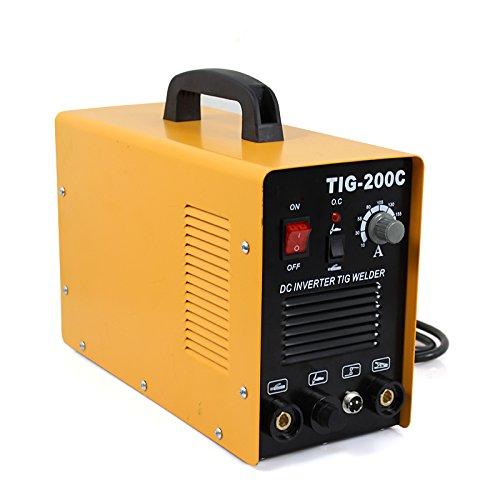 BBBuy Welding Machine DC Inverter Welder 200 AMP 2in1 Welder TIG MMA ARC Dual Voltage 110V and 220V