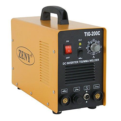 F2C 2in1 200 AMP DC Inverter Welder TIG MMA ARC Welding Cutting Machine Dual Votage 110&220V W Cutting Torch