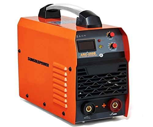 SUNGOLDPOWER 250A ARC MMA Stick IGBT Digital Display LCD Hot Start Welding Machine DC Inverter Welder 250 AMP Rod Anti-Stick Dual 110V And 220V Complete Package !