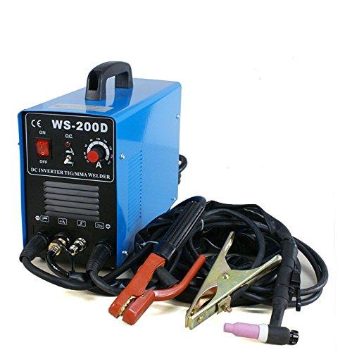 Smartxchoices 2in1 DC Inverter Welder MMA ARC Welding Machine TIG Welder Dual Votage 110&220V  200 AmpBlue