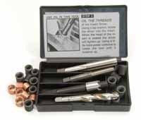K&L Supply 35-9424 M14 x 125 mm Metric Thread Repair Kit Insert 11 mm L