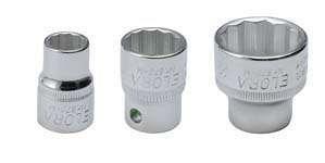 Elora 870000082000 870-M 8mm 38 Bi-Hexagonal Socket