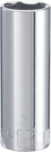CRAFTSMAN Deep Socket Metric 38-Inch Drive 16mm 6-Point CMMT44433