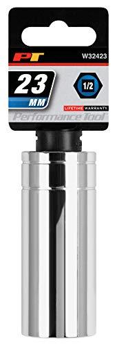 Performance Tool W32423 12 Drive 6-Point Socket 23mm Tool