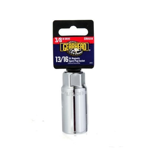 Gearhead 38 Drive 1316 Magnetic Spark Plug Socket GH8559
