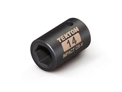 TEKTON 47769 12-Inch Drive by 14 mm Shallow Impact Socket Cr-V 6-Point