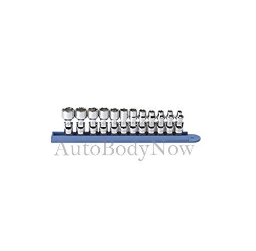 GearWrench 80311 12 Piece 14-Inch Drive 6 Point Flex Metric Socket Set