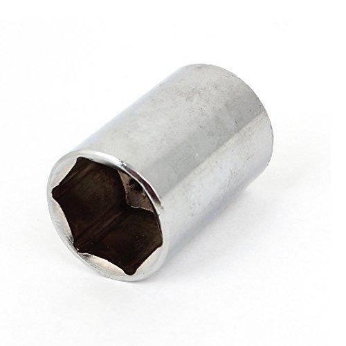 Uxcell a15013100ux0121 13mm Drive 20mm Chrome-vanadium Steel 6 Point Metric Hex Socket Tool