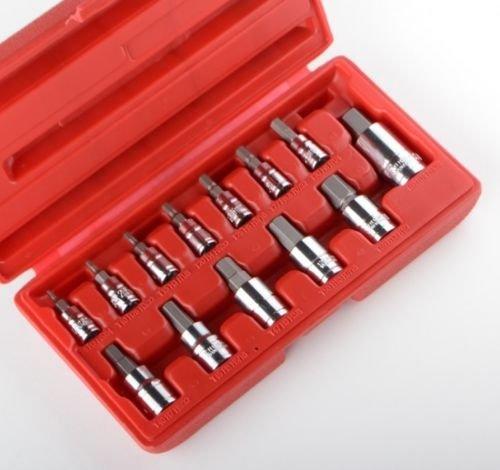 13pc Metirc Allen Hex Socket Bit Set Hd Wrench Ratchet 14 38 12 Mm