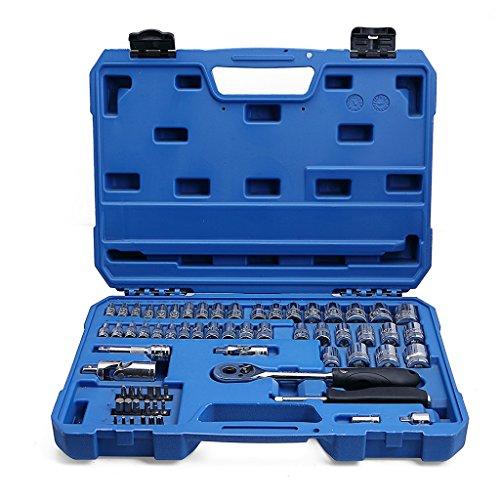 Valianto Hex Allen Bit Socket Set Car Repair Tool Kit 65 Pcs