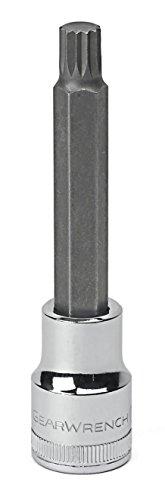 GEARWRENCH 12 Drive Extra Long Triple Square Bit Metric Socket 12mm - 80666