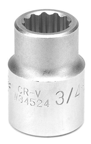 Performance Tool W34524 34 Drive 12-Point Standard Socket 34 12pt Socket