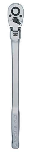 CRAFTSMAN Flex Head Ratchet Pear Head Long Handle SAE 72-Tooth 12-Inch CMMT99430