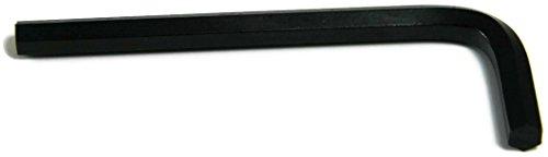 Short Arm Black Hex Allen Key Wrench 028 Inch - Qty 25