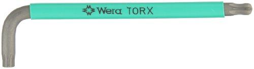 Wera TORX 967 SPKL TORX BO L-key BlackLaser Ballpoint TORX Key TX 50 x 156mm L-key Pack of 10