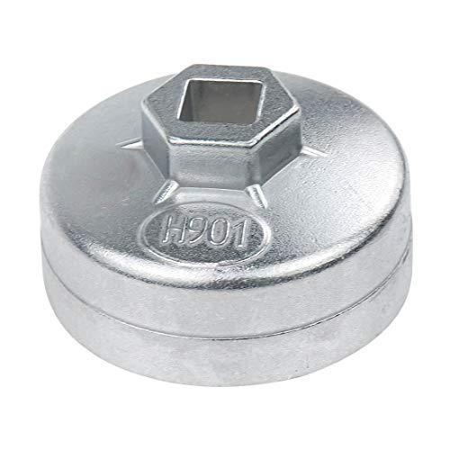 Rannb 901 Aluminum Alloy 65mm Inner Dia 14 Flute Oil Filter Wrench Model 901