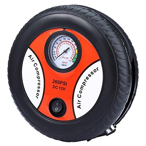YoYo-Min Mini DC 12V Car Air Compressor Tire Inflator Electric Car Inflatable Pumping Air Pumps Compressor