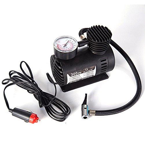 Mini Tyre Pump Compressor 300PSI Portable Electric Air Compressor DC 12V Car Tire Inflator Pump