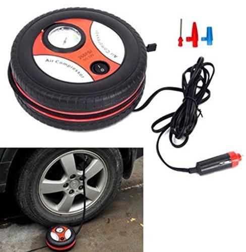 260PSI DC12V Portable Mini Air Compressor Auto Pump Car Sport Tyre Tire Inflator by ShopIdea