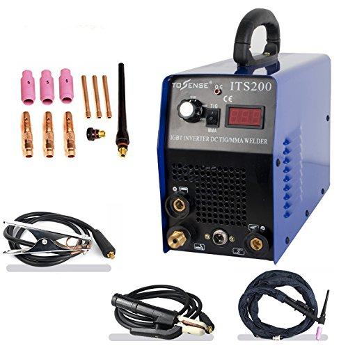 TIGMMAArcStick Welding Machine-Tosense ITS200 2in1 StainlessCarbon Steel Welding Equipment 110220V